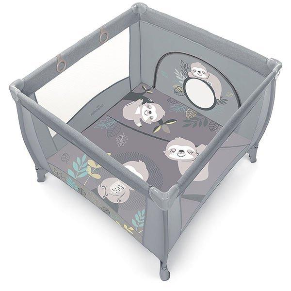 Saliekamā manēža Baby Design Play Up Sloth light grey 07