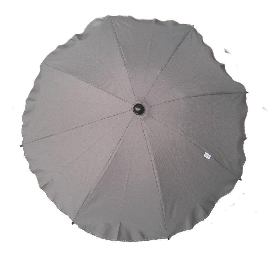 Saules sargs ratiņiem ROUND CAM109 grey