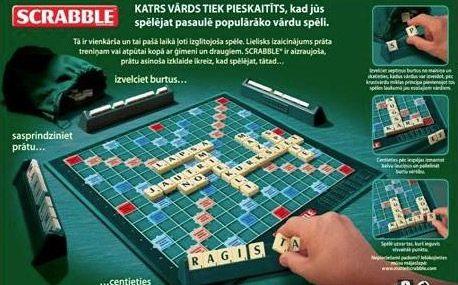 Scrabble Original - Latvian Y9623 Vārdu spēle (latv. val.)