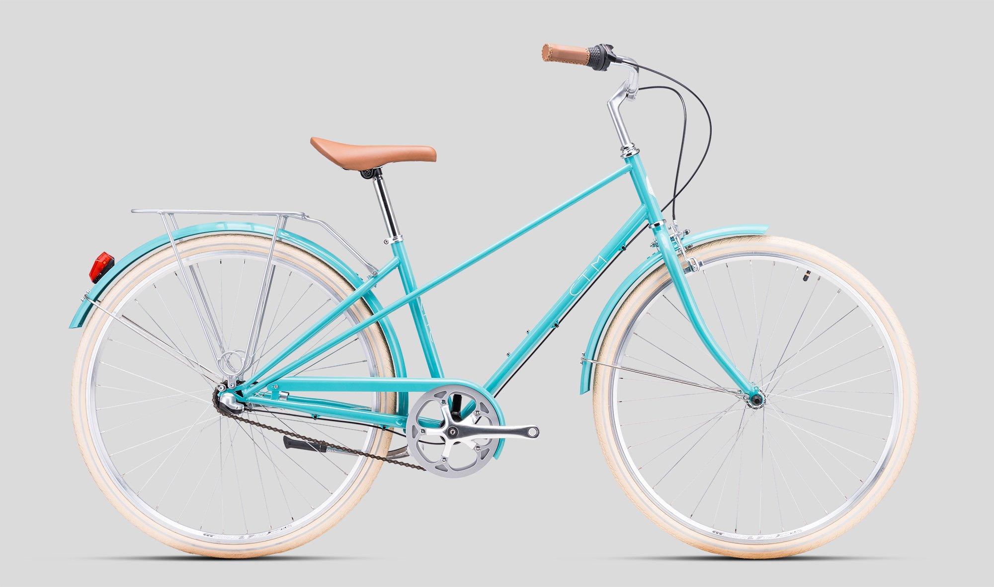 Sieviešu velosipēds CTM City Cité turquoise