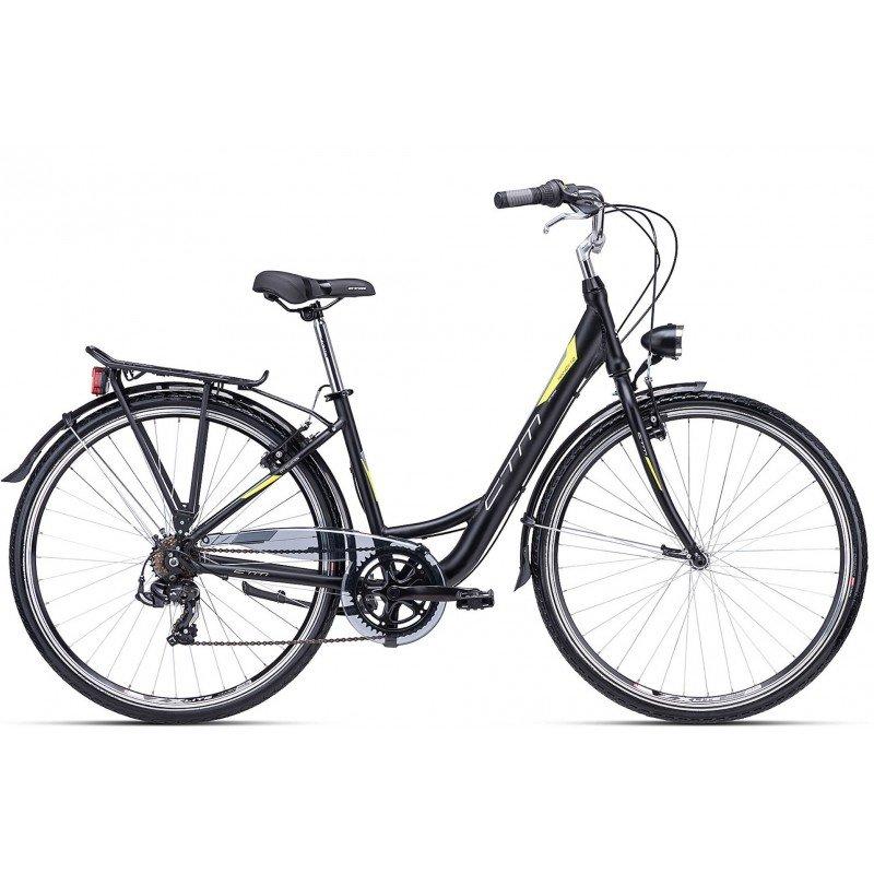 "Sieviešu velosipēds CTM City Nancy 1.0 28"" Black"