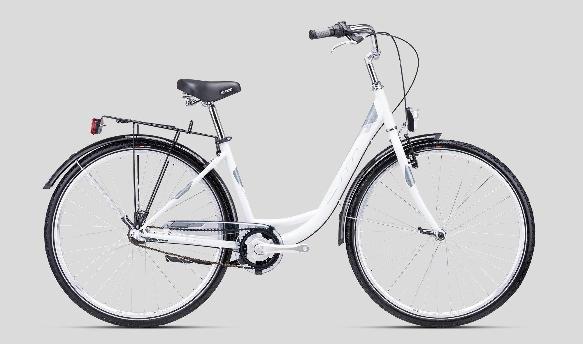 """Sieviešu velosipēds CTM City Rita 2.0 28"""" White"""