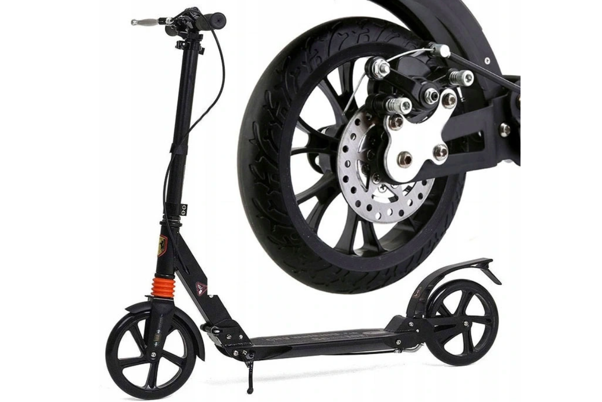 Skrejritenis ar disku bremzēm Scooter Urban Black