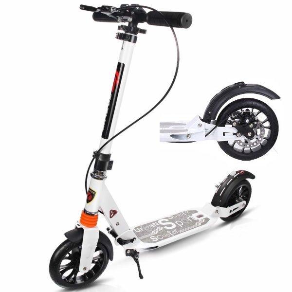 Skrejritenis ar disku bremzēm Scooter Urban White