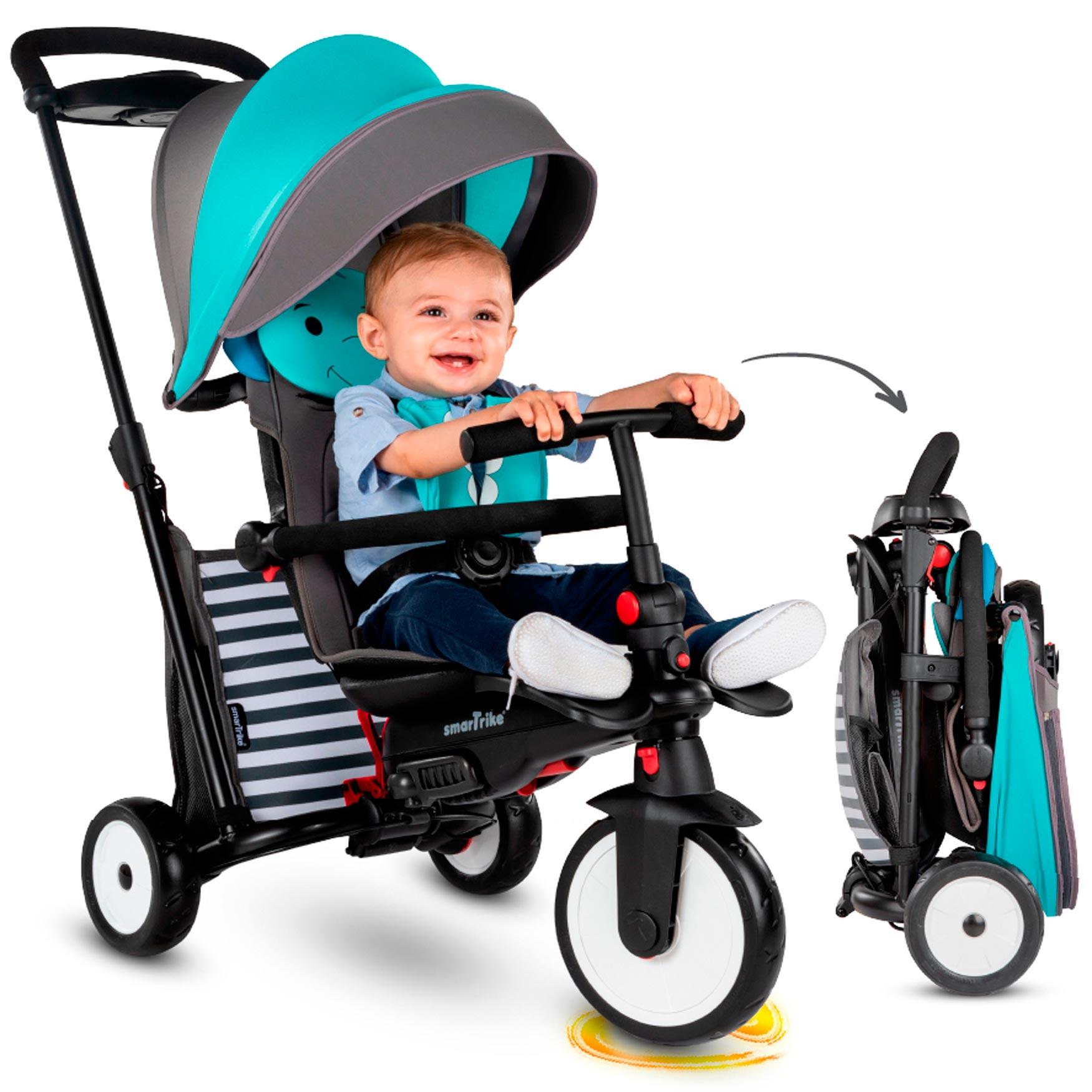 Smartrike Folding Trike 7in1 STR 5 Blue Bērnu trīsritenis
