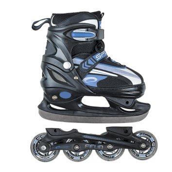 Spokey Felo Replacable Ice/Roller Skates Multifunksionālās hokkeja ledus/skrituļslidas