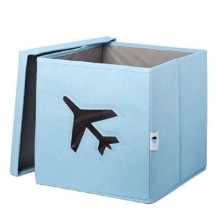 Store It Toy Box Airplane kaste rotaļlietām ar vāku