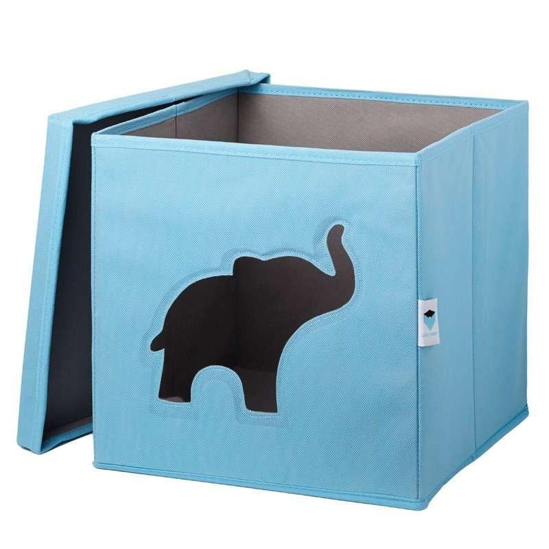 Store It Toy Box Elephant kaste rotaļlietām ar vāku