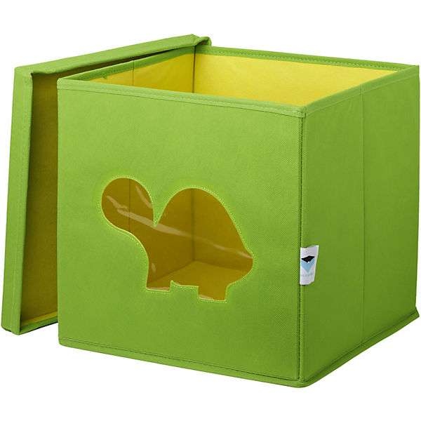 Store It Toy Box Turtle kaste rotaļlietām ar vāku