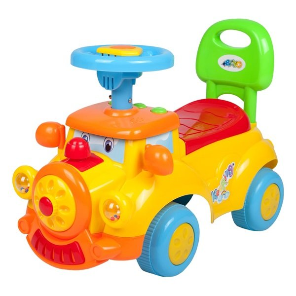 Stumjamā mašīna HAPPY LOKO 33748 yellow