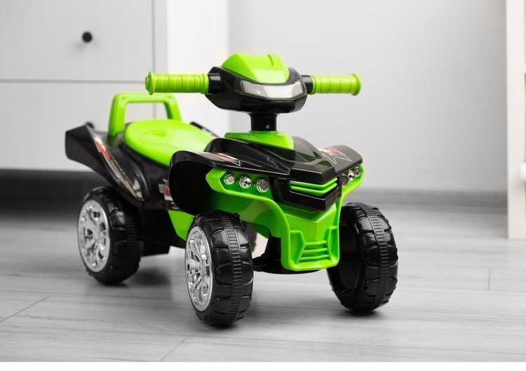 Stumjama mašīna - kvadrocikls Caretero Toyz Mini Raptor Green