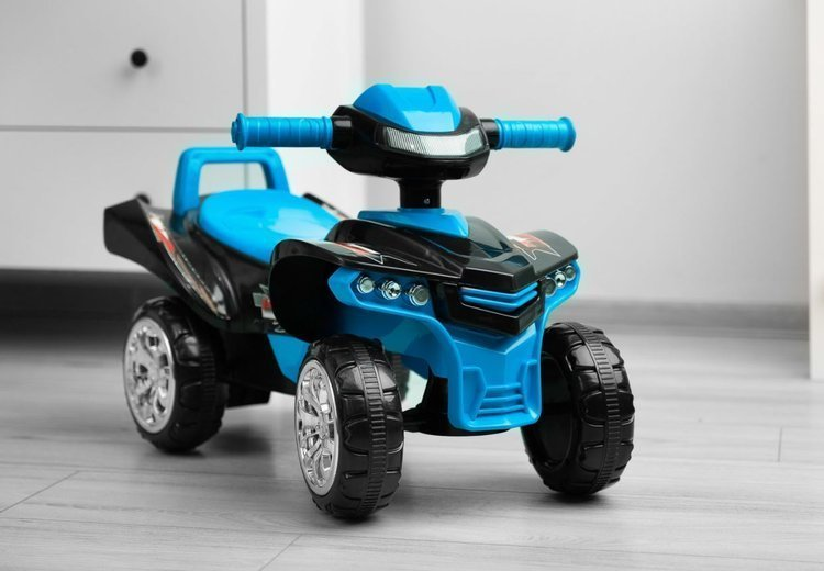 Stumjama mašīna - kvadrocikls Caretero Toyz Mini Raptor Navy