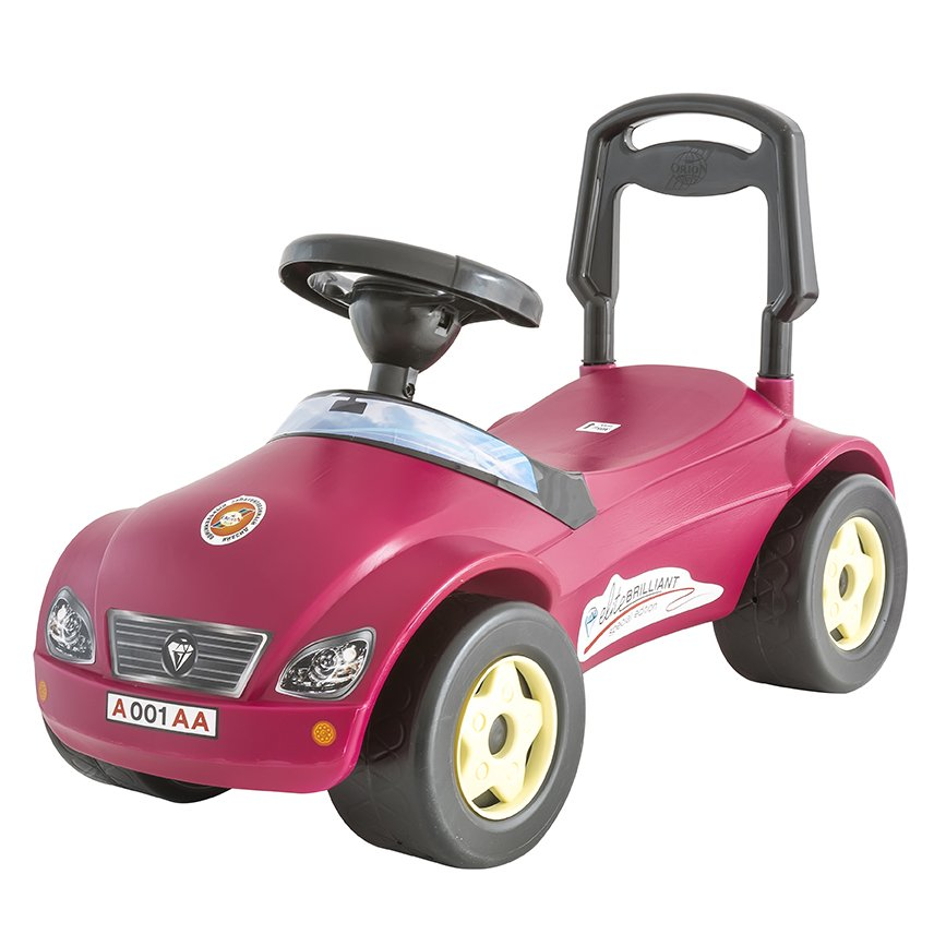 Stumjamā Mašīna ORION TOYS Mercedes red