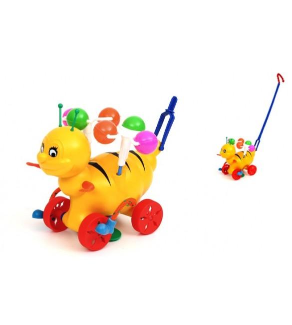 Stumjamā rotaļlieta Bitīte ar grabošo skaņu SUCHANEK 145