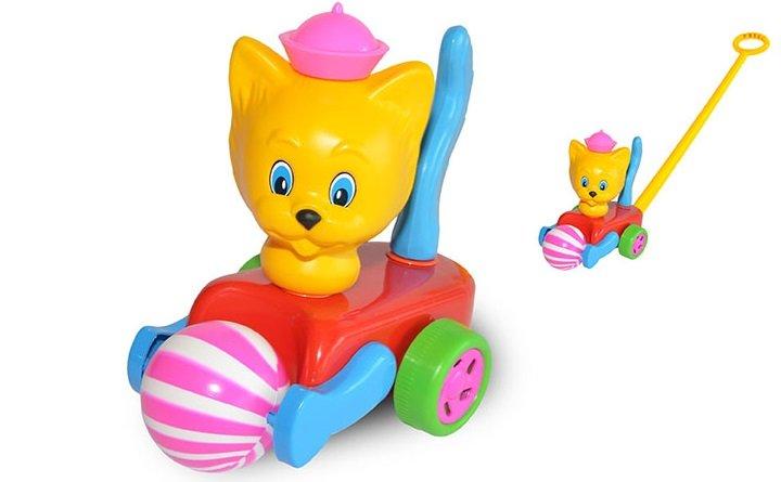 Stumjamā rotaļlieta Kaķis ar bumbu SUCHANEK 671