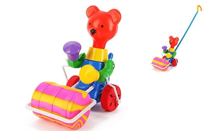 Stumjamā rotaļlieta Lācis ar veltni SUCHANEK 350