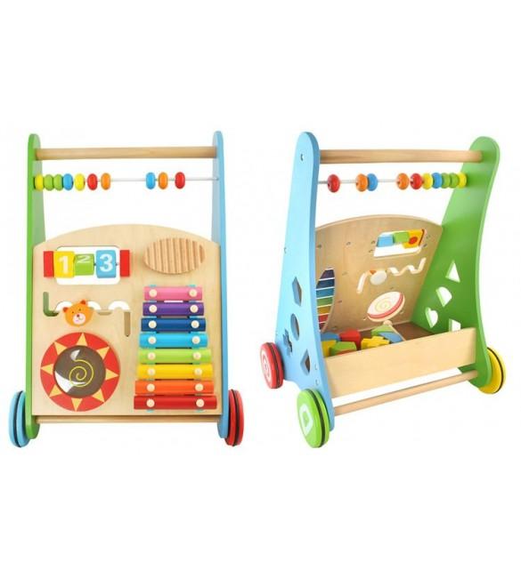 Stumjamais staigulis - rotaļlieta koka 4624