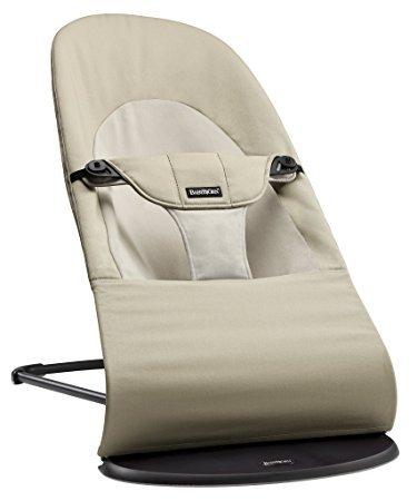 Šūpuļkrēsliņš BabyBjorn Bouncer Balance Soft Cotton khaki/beige 005026