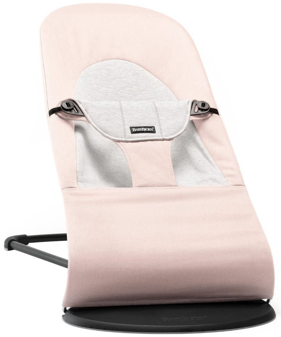 Šūpuļkrēsliņš BabyBjorn Bouncer Balance Soft light pink/grey 5089