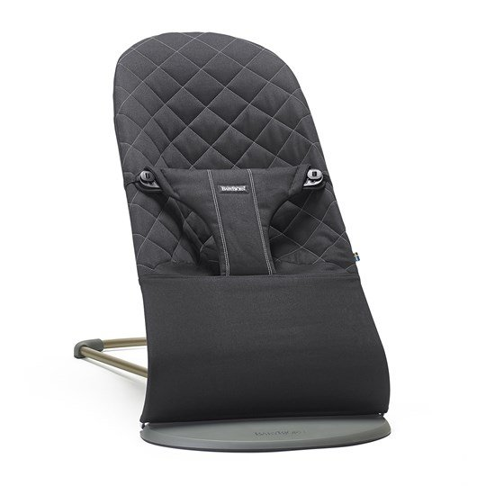 Šūpuļkrēsliņš BabyBjorn Bouncer Bliss Cotton black 006016