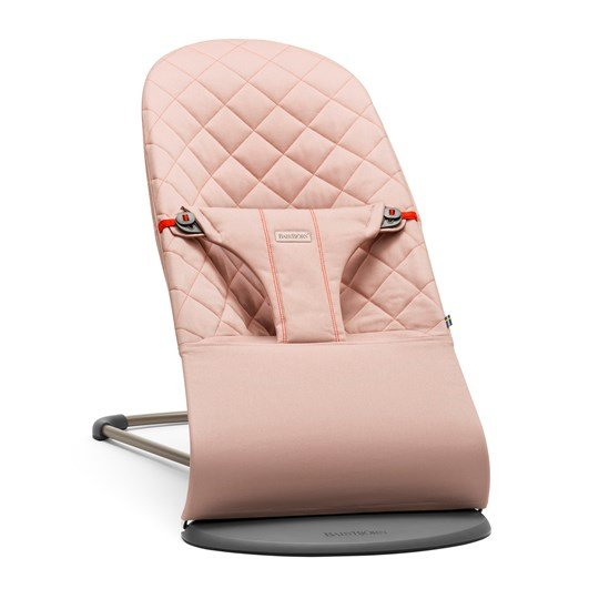 Šūpuļkrēsliņš BabyBjorn Bouncer Bliss Cotton old rose 006014