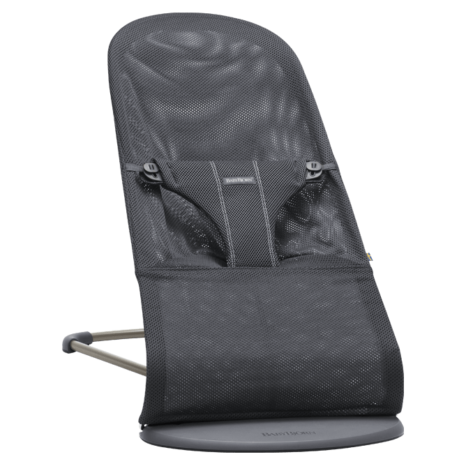 Šūpuļkrēsliņš BabyBjorn Bouncer Bliss Mesh anthracite 006013