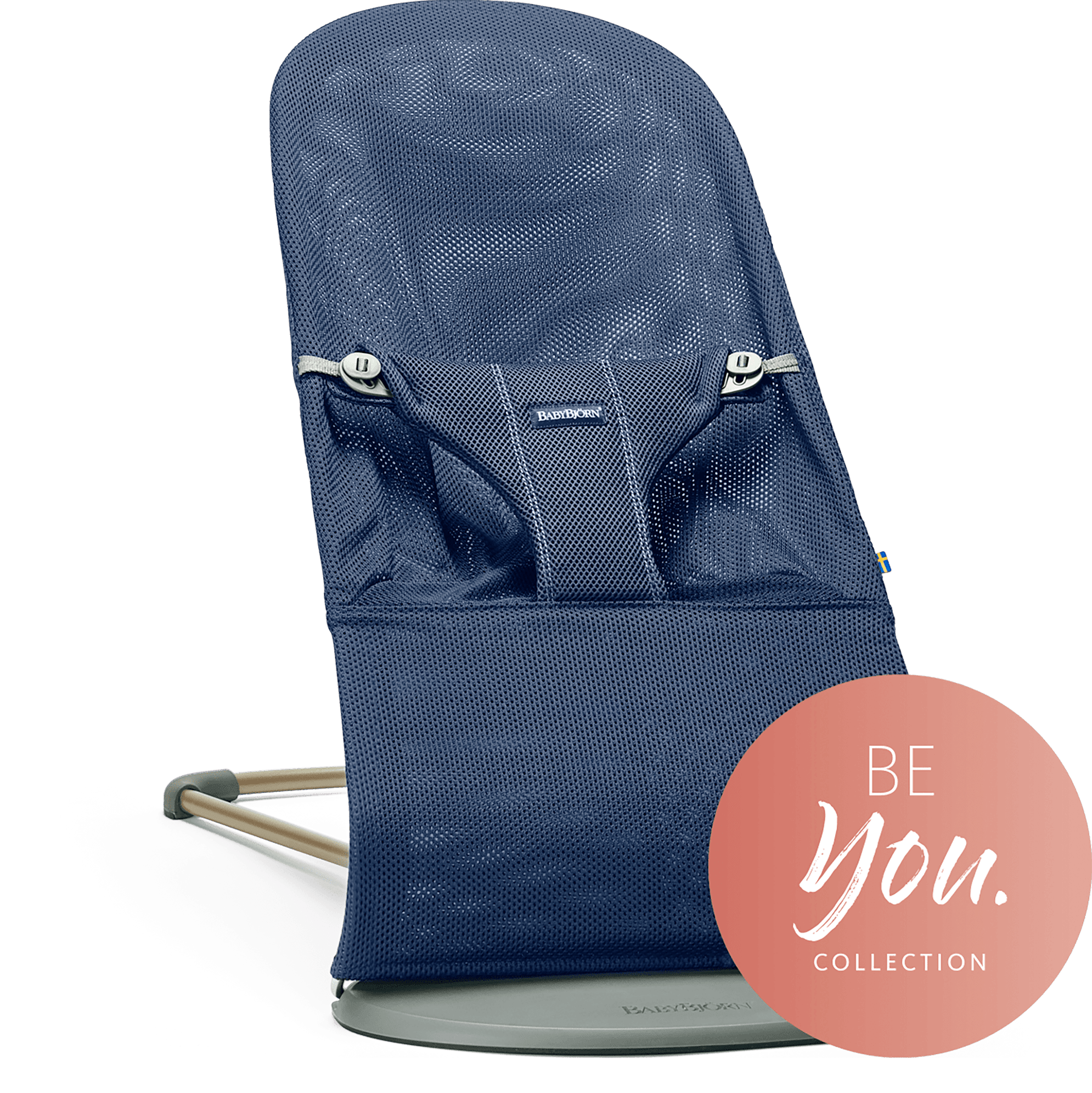 Šūpuļkrēsliņš BabyBjorn Bouncer Bliss Mesh navy blue 006003