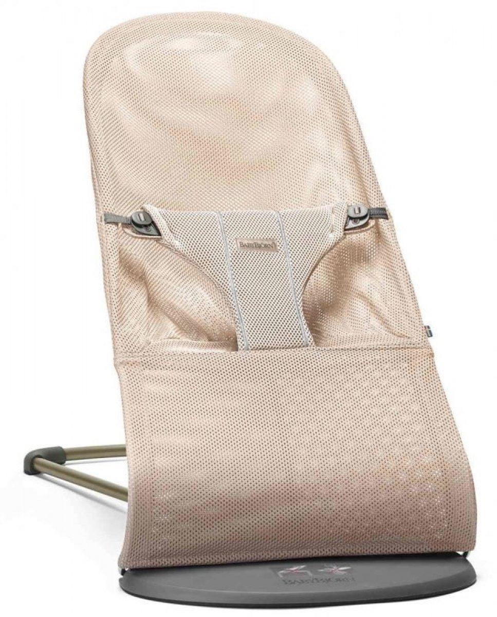 Šūpuļkrēsliņš BabyBjorn Bouncer Bliss Mesh pearly pink 6001