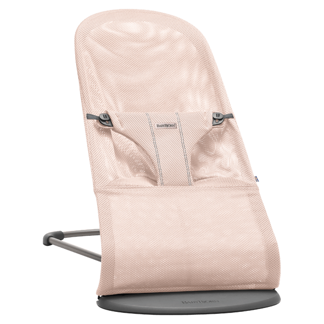 Šūpuļkrēsliņš BabyBjorn Bouncer Bliss Mesh powder pink 006012