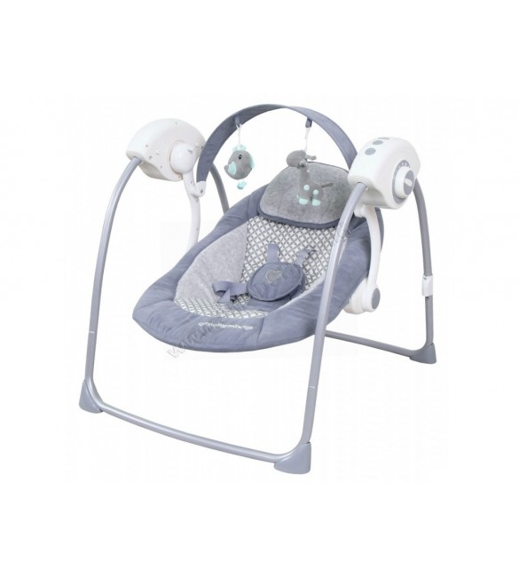 Šūpuļkrēsliņš BabyMix grey TY-019D