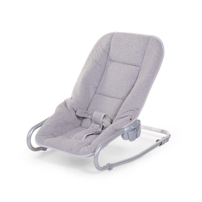 Šūpuļkrēsliņš CHILDHOME Jersey Babysitter grey
