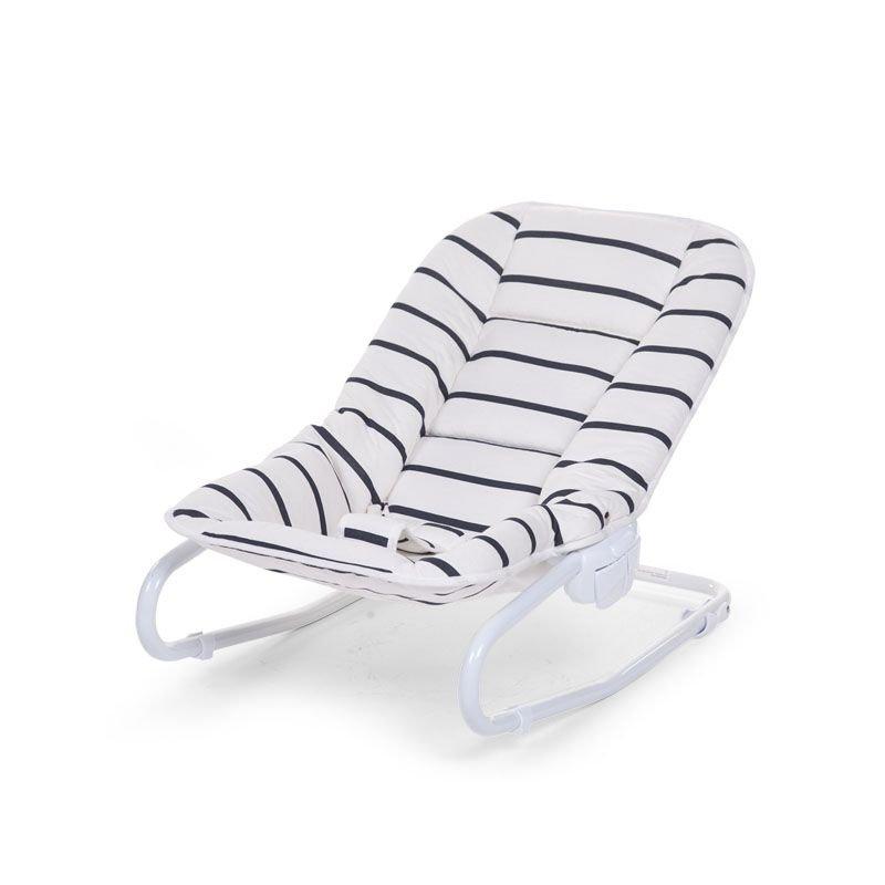 Šūpuļkrēsliņš CHILDHOME Jersey Marin Babysitter