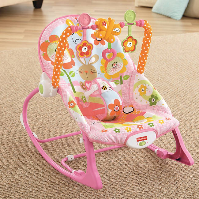 Šūpuļkrēsliņš Fisher Price Bunny Infant-to-Toddler Rocker Y8184