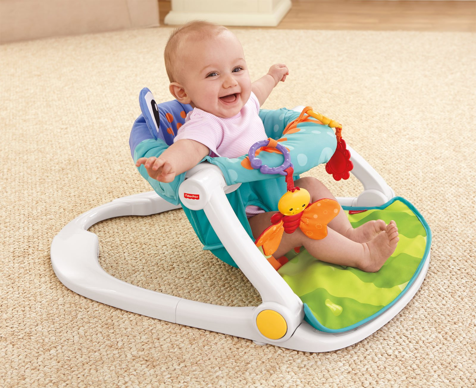 Šūpuļkrēsliņš Fisher Price Sit-Me-Up Floor Seat BFB12