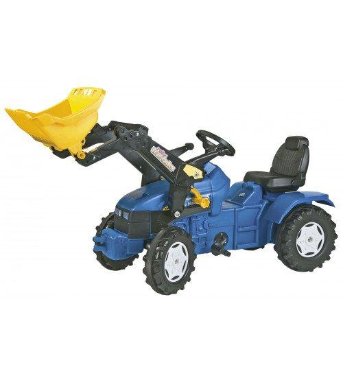 Traktors ar kausu un pedāļiem Rolly Toys rollyFarmtrac NH TD5050 (3-8 gadiem) 046713