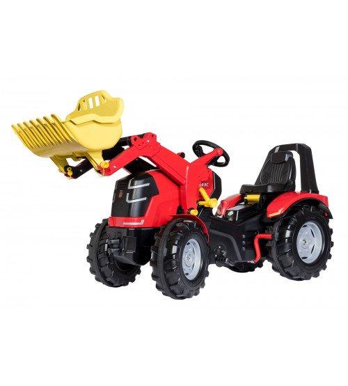 Traktors ar pedāļiem ar kausu 2 ātrumi un bremze Rolly Toys rollyX-Trac Premium (3 - 10 gadiem) 651016