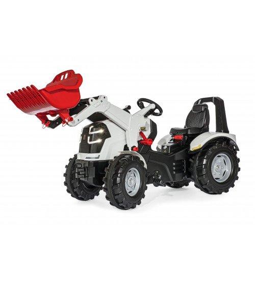 Traktors ar pedāļiem ar kausu un LED lampiņām Rolly Toys rollyX-Trac Premium  (3 - 10 gadiem) 651061