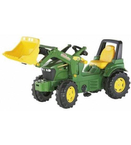 Traktors ar pedāļiem ar noņemāmo kausu Rolly Toys rollyFarmtrac John Deere 7930  (3 - 8 gadiem) 710027