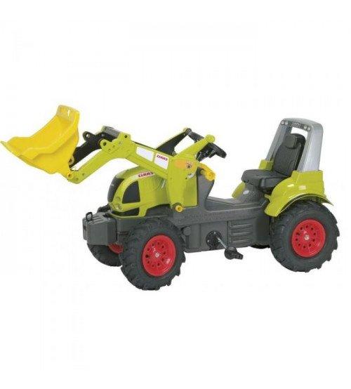 Traktors ar pedāļiem ar noņemāmo kausu un piepūš. riteņ. Rolly Toys rollyFarmtrac CLAAS ARION 640 (3 - 8 gadiem)710249