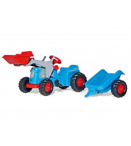 Traktors ar pedāļiem ar piekabi un kausu Rolly Toys rollyKiddy Classic (2,5-5 gadiem ) 630042