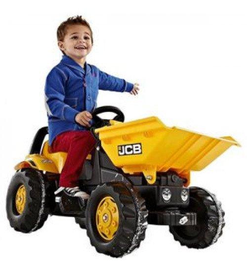 Traktors ar pedāļiem Rolly Toys Rolly KID Dumper JCB 024247