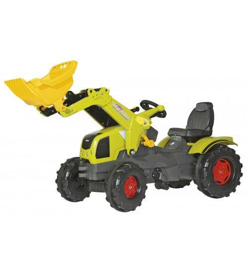 Traktors ar pedāļiem Rolly Toys RollyFarmtrac Claas Axos 340 611041 (3-8 gadi)