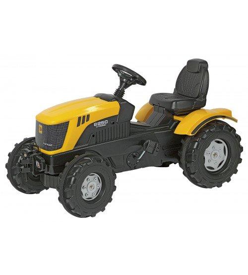 Traktors ar pedāļiem Rolly Toys rollyFarmtrac JCB 8250 (3 - 8 gadiem) 601004