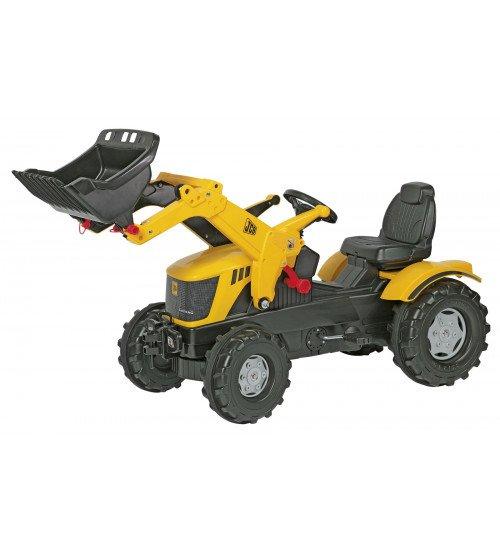 Traktors ar pedāļiem Rolly Toys rollyFarmtrac JCB 8250 (3 - 8 gadiem ) 611003