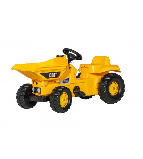 Traktors ar pedāļiem Rolly Toys rollyKid Dumper CAT 024179