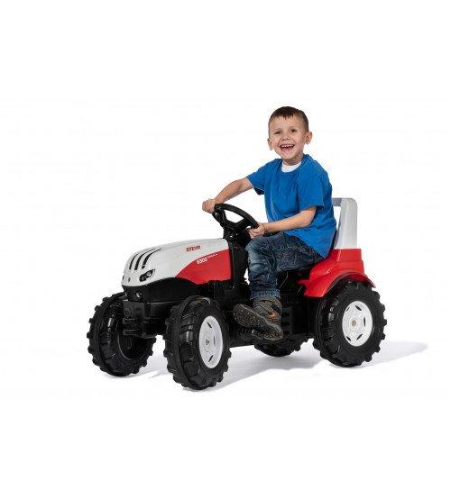 Traktors ar pedāļiem rollyFarmtrac Steyr 6300 Terrus CVT (3-8 gadiem) Vācija 700042