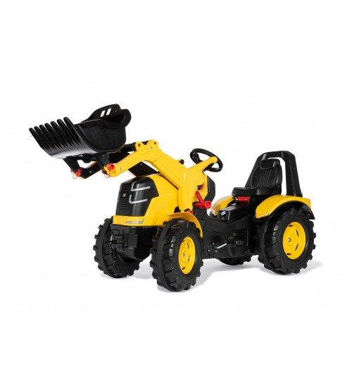 Traktors ar pedāļiem rollyX-Trac Premium CAT ar kausu 651115 (3-10 gadiem) Vācija