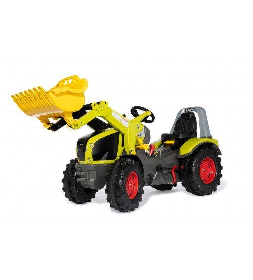 Traktors ar pedāļiem rollyX-Trac Premium CLAAS Axion 960 ar kausu 2 ātrumi un bremze 651122 (3 - 10 gadiem) Vācija