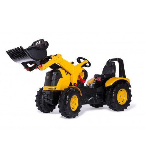 Traktors ar pedāļiem rollyX-Trac Premium JCB ar kausu 651139 (3-10 gadiem) Vācija
