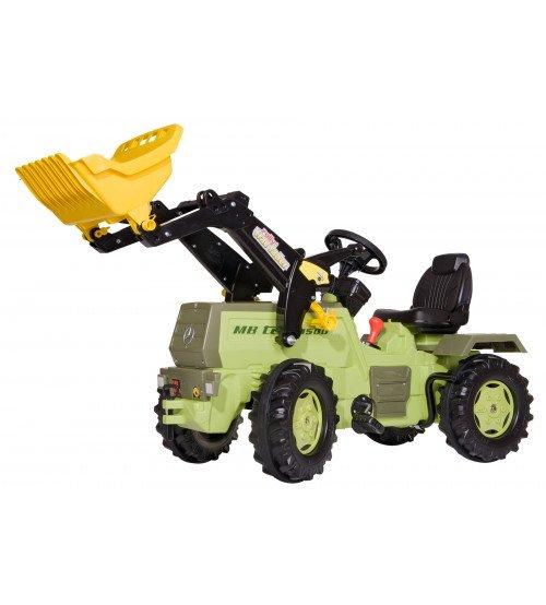 Traktors ar pedāļiem un kausu (2 ātrumi, bremze) Rolly Toys rollyFarmtrac MB 1500 (3-8 gadiem)  046690